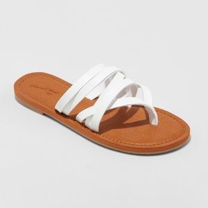 Universal Thread Maritza Multi-Strap Toe Slide